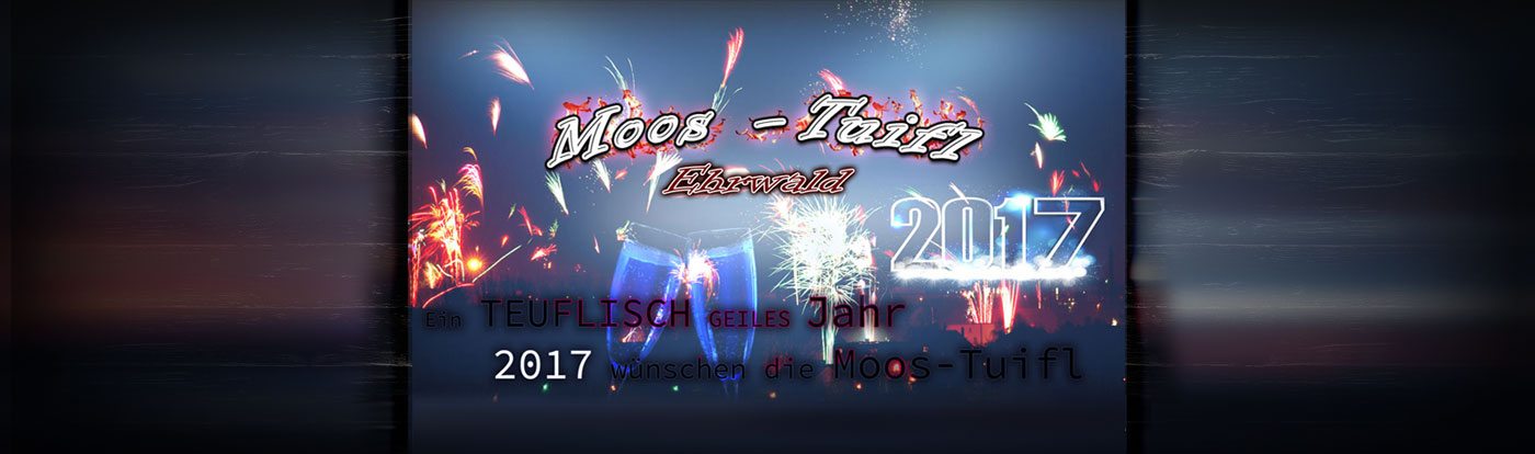 Moos-Tuifl Frohes neues Jahr 2017